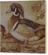 Edward And Mae Wood Print