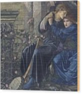 Edward Burne-jones, Love Among The Ruins, 1894 Wood Print