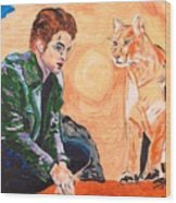 Edward Cullen And His Diet Wood Print