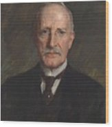 Edward Guthrie Kennedy , By William Merritt Chase 1849-1916 Wood Print