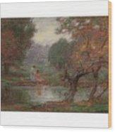 Edward Henry Potthast 1857 - 1927 October Days Wood Print