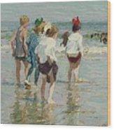 Edward Henry Potthast 1857 - 1927 Summer Day, Brighton Beach Wood Print