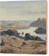 Edward Lear 1812 - 1888 British Philae Wood Print
