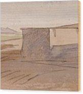 Edward Lear - Dendera Wood Print