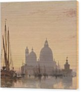 Edward William Cooke Venezia 1851 Wood Print
