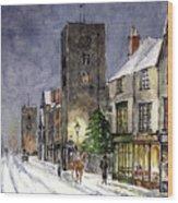 Edwardian Oxford Wood Print