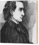 Edwin Booth Wood Print