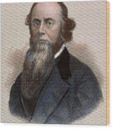 Edwin M. Stanton Wood Print