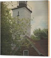 Erie Lighthouse 1872 Wood Print