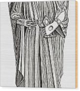 Effigy Of King John On His Tomb In Wood Print