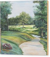 Effingham Country Club Wood Print