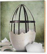 An Egg Wood Print