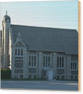 Egg Harbor Church Wood Print