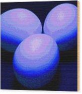 Egg Lights II Wood Print