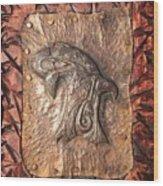 Eggbird Wood Print