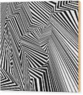 Egnirf Wood Print