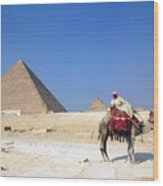 Egypt - Pyramid Wood Print