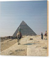 Egypt - Pyramid3 Wood Print