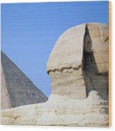 Egypt - Pyramids Abu Alhaul Wood Print