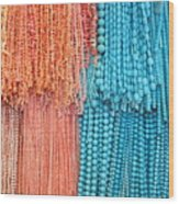 Egypt Coral And Turquoise From Mount Sinai Egypt Wood Print