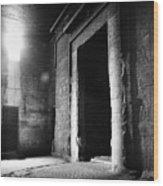 Egypt: Dendera: Temple Wood Print