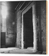Egypt: Dendera: Temple Wood Print by Granger
