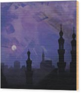 Egypt Mosque  Wood Print