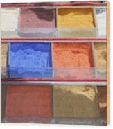 Egypt Natural Earth Pigments Egypt Wood Print