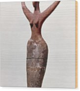 Egyptian Figure Wood Print