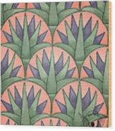 Egyptian Floral Wood Print