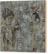 Egyptian Memories  Wood Print