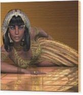 Egyptian Priestess Wood Print