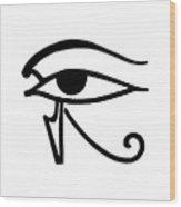 Egyptian Utchat Wood Print