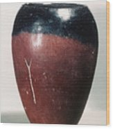 Egyptian Vase, C4000 B.c Wood Print