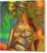 Egyptian woman and child Wood Print