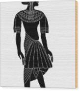 Egyptian Woman Wood Print