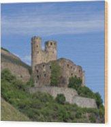 Ehrenfels Castle Squared 02 Wood Print