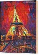 Eifell Tower By Svetlana Novikova ( All Wood Print