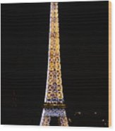 Eiffel Tour 2 Wood Print