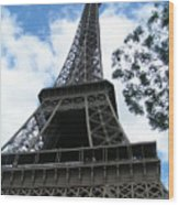 Eiffel Tower 2 Wood Print