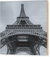 Eiffel Tower 3 Wood Print