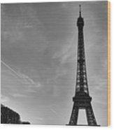 Eiffel Tower-4 Wood Print
