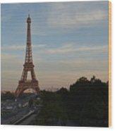 Eiffel Tower I Wood Print
