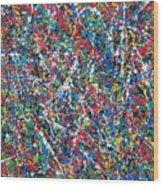 Eight-dimensional Region Of Space 5.11.13. Wood Print