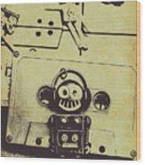 Eighties Rewind  Wood Print