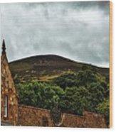 Eildon Hill Wood Print