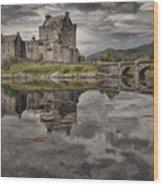 Eilean Donan Castle 3 Wood Print by Wade Aiken
