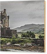 A Bonnie Wee Castle Wood Print