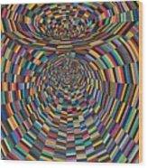 Einstein's Vacuum Field Wood Print