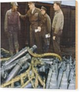 Eisenhower: Wwii, C1944 Wood Print by Granger
